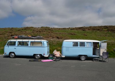 VW Camper and Trailer