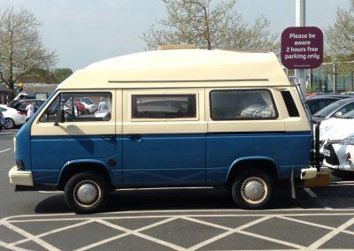 VW Syncro Camper Van