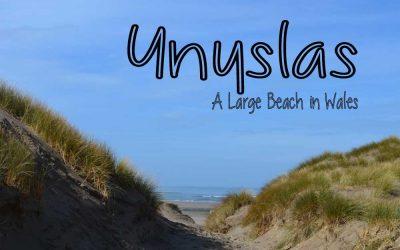 Ynyslas Beach – Wild Camping