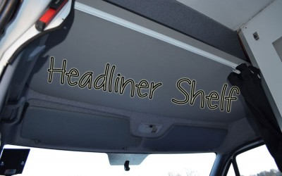 Headliner Shelf Sprinter Van