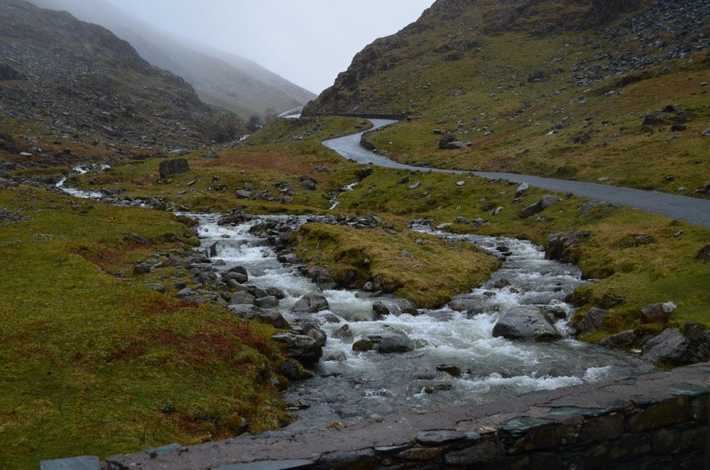 Honister Pass Campervan