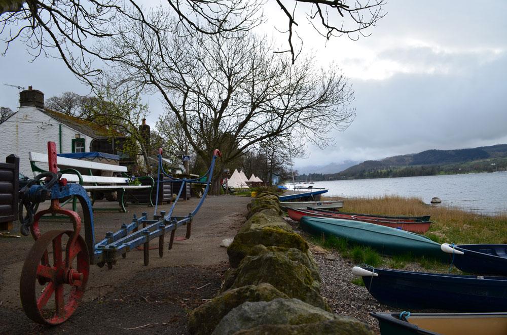 Waterside campsite ullswater