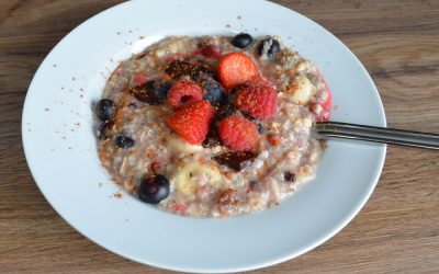 Yummy Vegan Chocolate Breakfast Oats