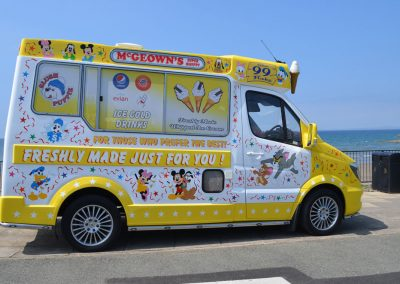 Sprinter Van Ice Cream Van