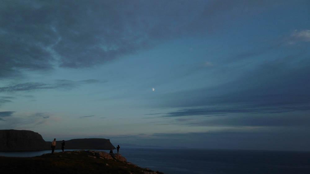 Neist Point Moon