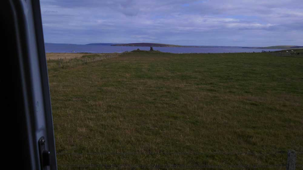 The Orkney's Wild Camping