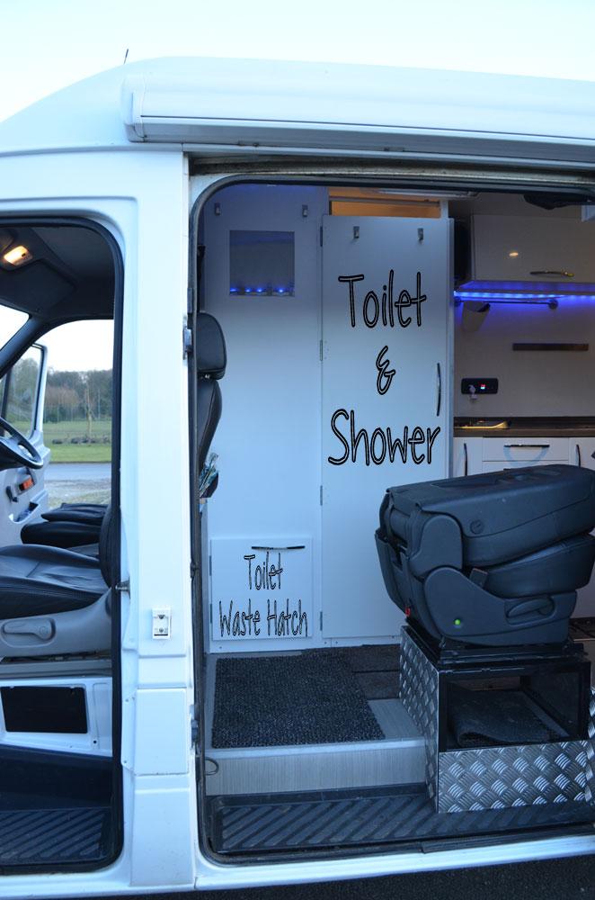 Shower & Toilet Sprinter Van