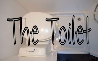 Toilet and Shower – Sprinter Van Conversion