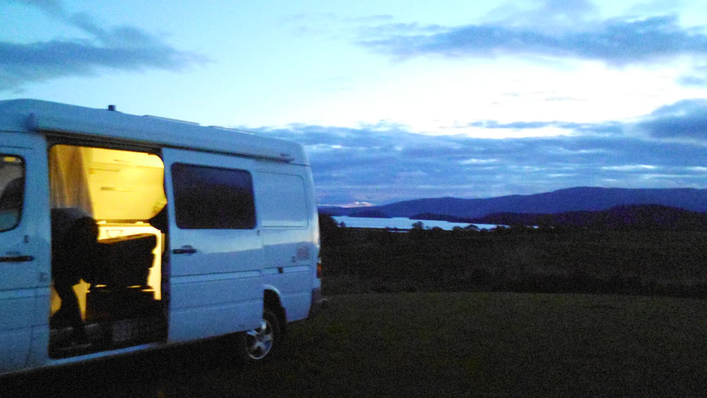 evening loch lomond