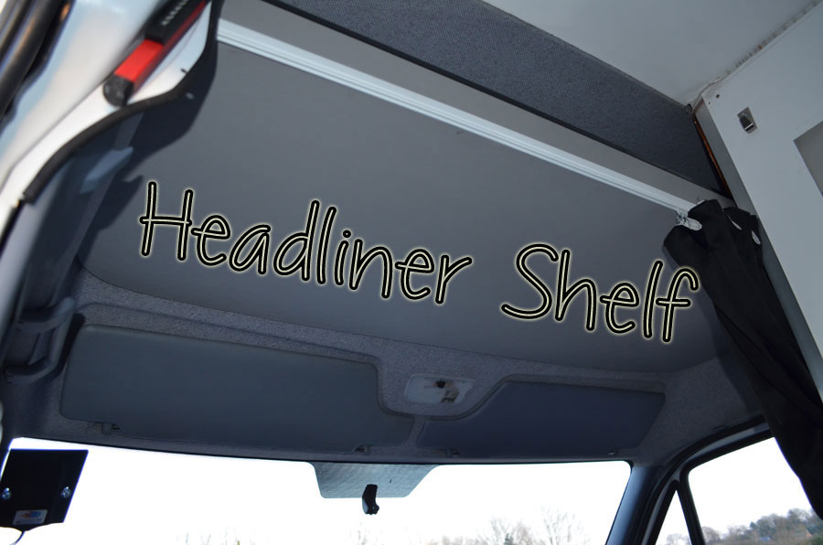 Headliner Shelf Sprinter Van