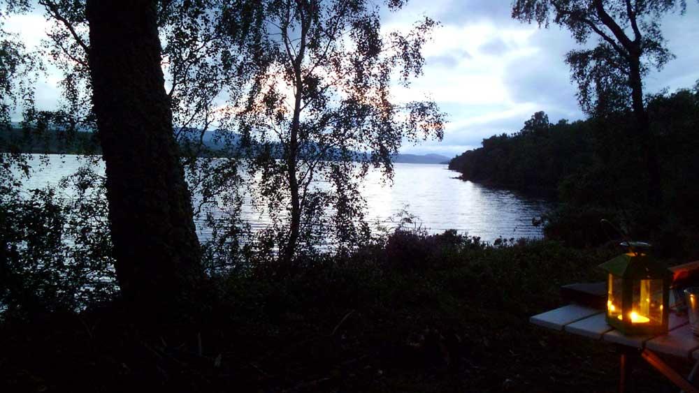 Loch Rannock Wild Camping