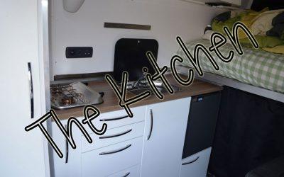 The Kitchen – Sprinter Van Conversion