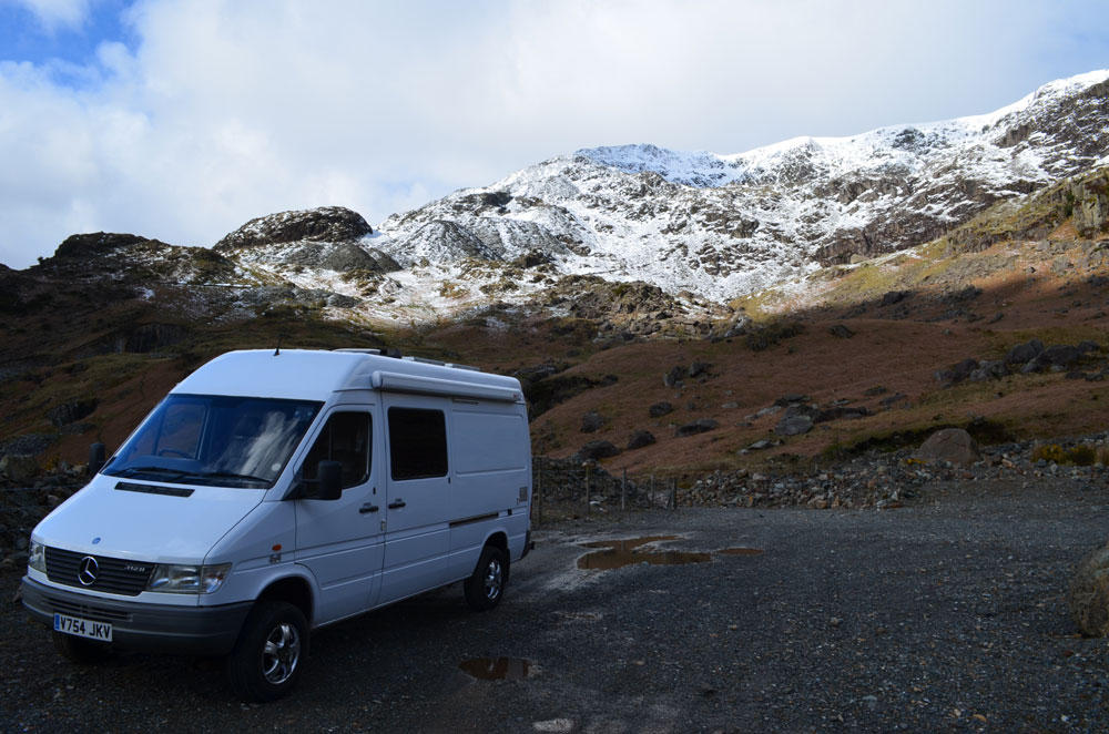 The Old Man of Coniston Wild Camping