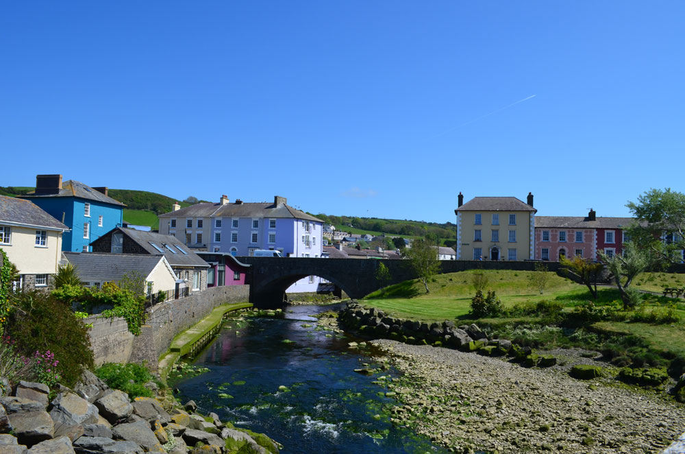 Bridge over river Aeron