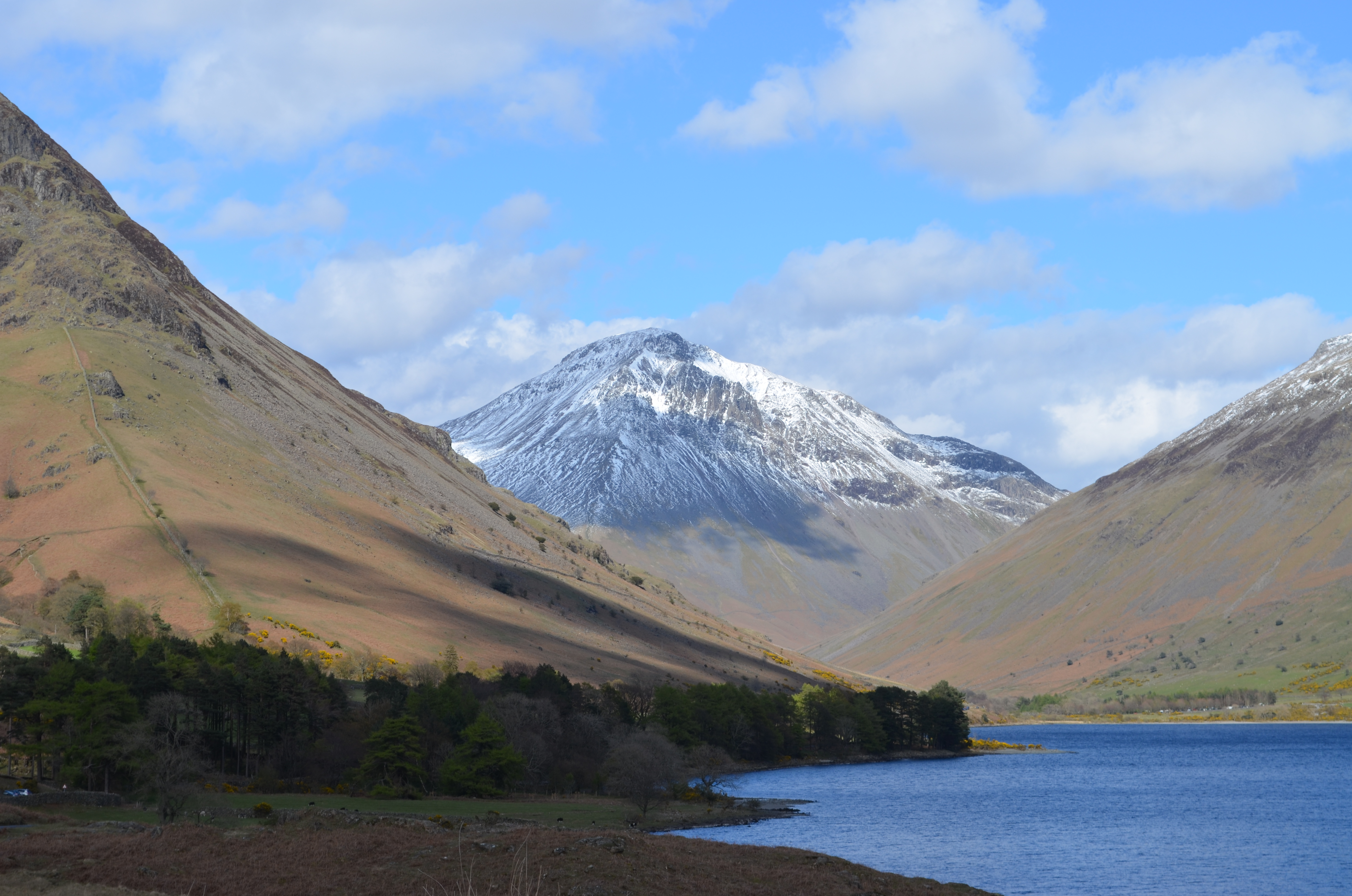 Wastwater Wild Camping. The Lake District