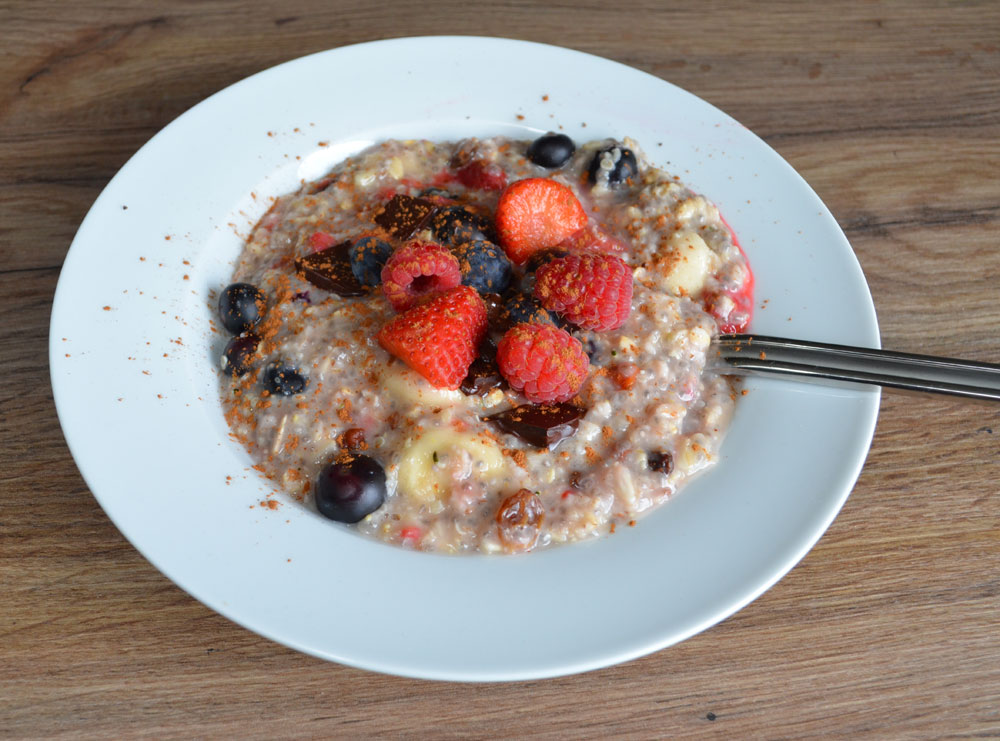 veag camping food oatts