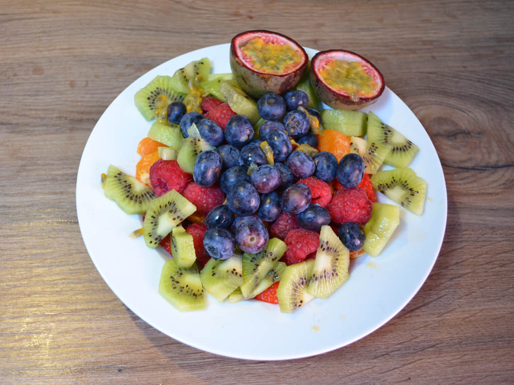 vegan fruit salad
