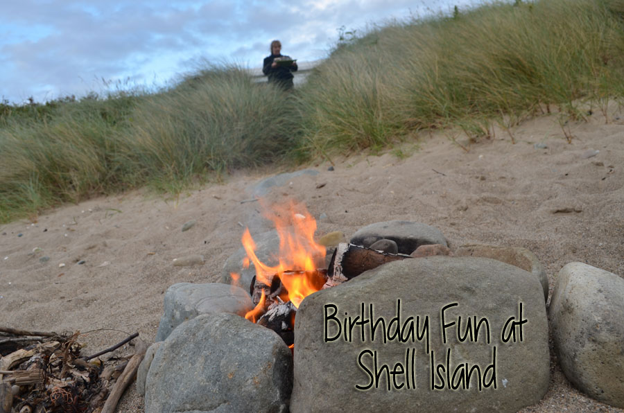 Birthday Fun at Shell Island