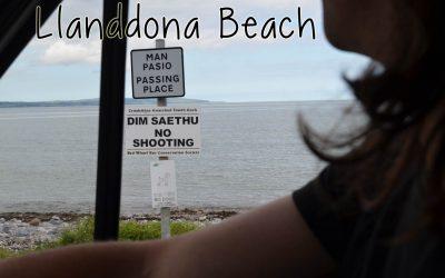 Lunch at Llanddona Beach